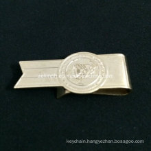 Custom Shape Stainless Steel Cheap Money Clip for Promotion