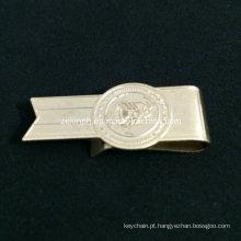 Clipe de dinheiro barato de aço inoxidável de forma personalizada para promoção