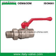 Válvula de esfera da união do bronze da qualidade do OEM & do ODM / válvula de compressão (AV1027)