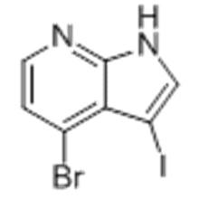 4-BROMO-3-IODO-1H-PYRROLO[2,3-B]PYRIDINE CAS 1000340-34-0