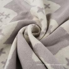 Peso leve cobertor de bebê tricô algodão reversível CB-K16013
