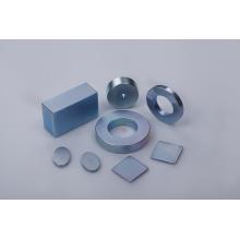 Ímã de neodímio com revestimento de zinco em diferentes formas
