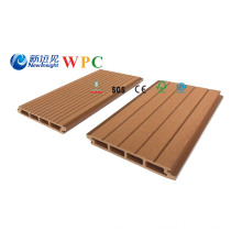 158*20mm Wood Plastic Composite Decking with CE, Fsg SGS, Certificate