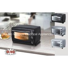 Forno do Toaster do CE A13, Rotisserie do forno do torradeira da convecção 35L com cremalheiras