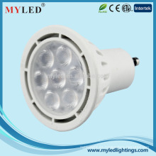 Myled 2015 nuevo producto LED GU10 7w hight lumen teatro spotlight para la venta