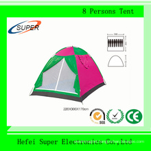 Factory Supply (220*300*170) mm Tour Tent for 8 Persons