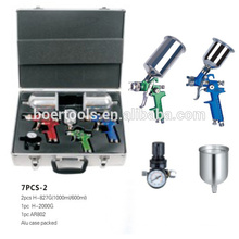 Kit de pistola de pulverização 7pcs HVLP 7PCS-2