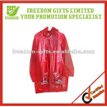 Ropa impermeable de PVC de alta calidad promocional