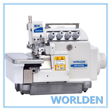 Wd-Ex5200-4 Cylinderbed Overlock Industrial Sewing Machine