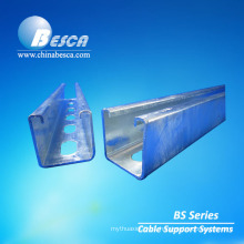 Galvanized Slotted Strut Channel Steel U Channel 41*41mm