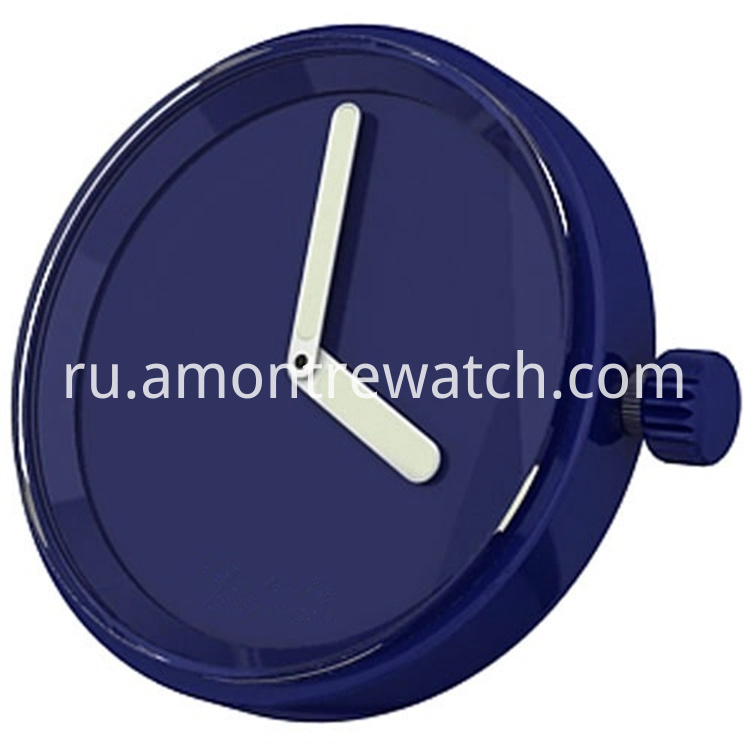 inchangable watch case royalblue