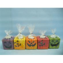 Halloween Candle Shape Ceramic Crafts (LOE2372E-7z)