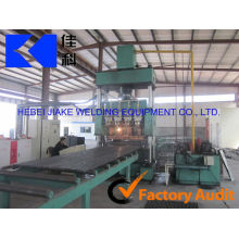 Automatic grating panel welding machine for floor
