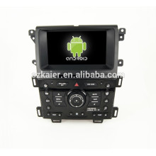 Quad core Android 4.4 Mirror-link TPMS DVR 1080P car multimedia navigation syste for FORD Edge with GPS/Bluetooth/TV/3G