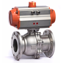 DN15 Air Actuator Thread Connection Pneumatic Ball Valve