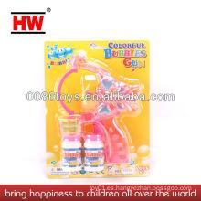 BO Bubble Gun con luz de juguete de la burbuja de la música