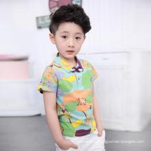 Горячие продажи летняя одежда устанавливает дети футболку для комфортного