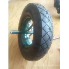 Laufkatzen-Rad-pneumatisches Gummireifen-Gummirad 400-8