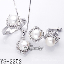 Мода ювелирные изделия Перл Set 925 Серебро для женщин (YS-2252)