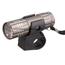Aluminum Bicycle Light with 9 White LED (HLT-115)