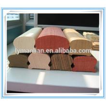 Pasamanos de madera de arce pasamanos de escalera de roble rojo.