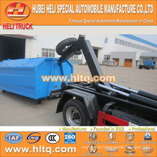 FOTON FORLAND brand 4x2 4.5m3 hydraulic arm garbage truck good quality and low price for sale In China