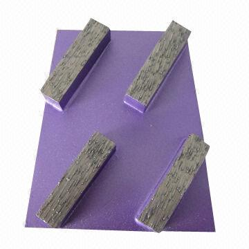Abrasive Wedge Block for Concrete Grinding