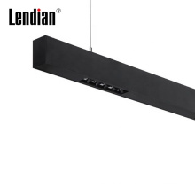 Skyline ceiling suface mounted built in driver commercial office fexible  cafe studio profile ip65 led linear light