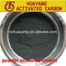 suministro de 200 malla de polvo activado de carbón MSDS