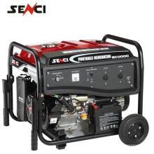 Gerador elétrico de gasolina preço mini gerador