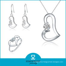 Wholesale Classsic 925 Sterling Silver Jewelry Set with CZ (J-0122)