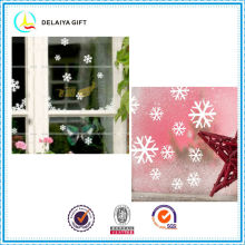 Romantic Christmas static cling window sticker