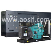 250kw China electric low noise power generating sets