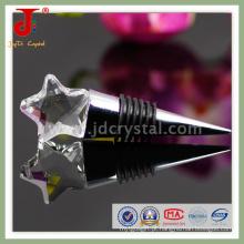 Rolha de vinho de cristal para presentes de casamento (jd-ws-406)