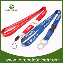 Custom new product polyester lanyard with bottle opener wholesale