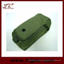Airsoft Molle Single Ak Magazine Pouch with Velcro Flip