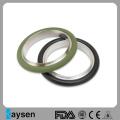 KF50 Centering Ring with Viton Oring Aluminum