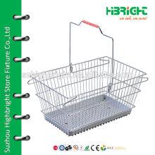 Металлическая проволочная сетка с пластиковой пластиной