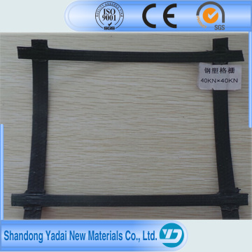 Biaxial Plastic Geogrid 2020 3030 4040 with Ce Certificate