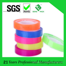 Bande de papeterie colorée de longueur de 25mm