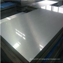 7049 folha de alumínio anodizado preto