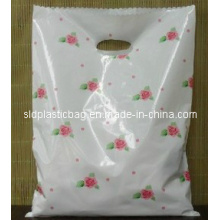 Customize Various of PE Die Cut Plastic Bags for Shopping Gift Garment Packaging