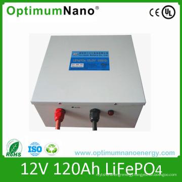 12V 120ah LiFePO4 Battery for Solar Storage