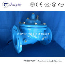 Válvula de retención anti-golpeo hidráulicamente accionada