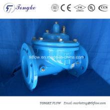 Vanne anti-choc à commande hydraulique