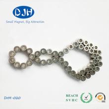 Anillo en forma de poder fuerte sinterizado NdFeB anillo imanes