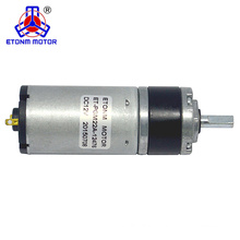 22mm planetary gearhead dc motor 3rpm 6v