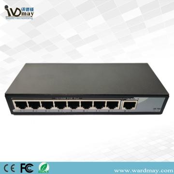 WDM CCTV camera 8chs Economic POE Switch
