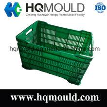Moule en plastique adapté aux besoins du client de caisse pour le moule de boîte d'emballage et de stockage
