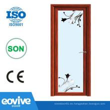 Fabricante de diseño de puertas y ventanas de aluminio de tamaño estándar